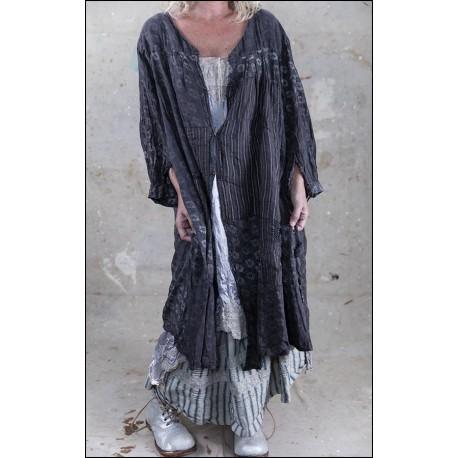 robe Helaine in Grey Chalk
