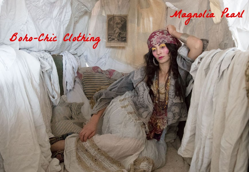 Magnolia Pearl on Boho-Chic Clothing