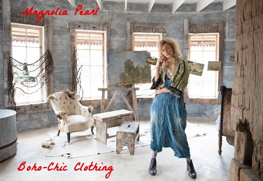 Magnolia Pearl sur Boho-Chic Clothing