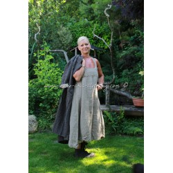 robe Jutta in Flax