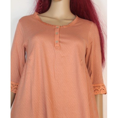 Tunic CARELLE salmon