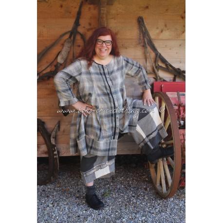panty THEODORE drap de laine grands carreaux