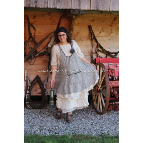 robe-tablier CATHERINE lin vichy
