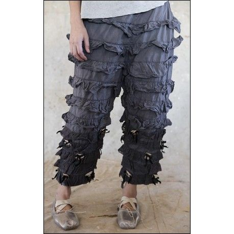 pants Annie Oakley in Charcoal
