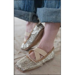 ballerines Stella Toe in Starlet