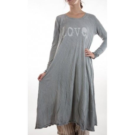 dress Love with Long Sleeves in Dove