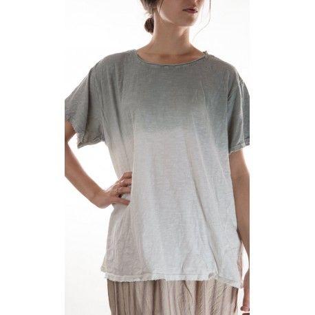 T-shirt Watercolor in Dove