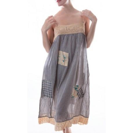 dress Violet in Bluebird Check