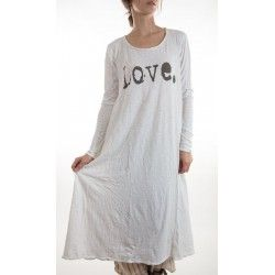 robe Love with Long Sleeves in True