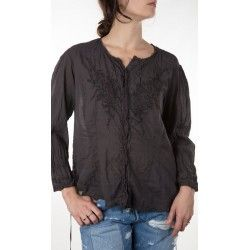 blouse Freja in Midnight