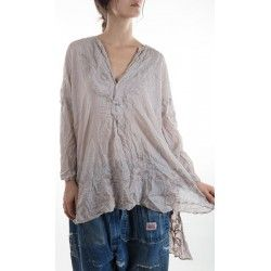shirt Ines in Lilac Ash