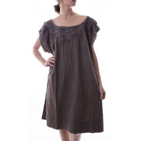 robe Ottilia in Charcoal