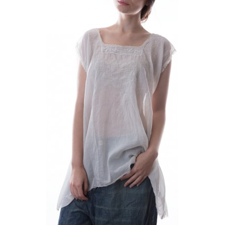 top Siimone in Antique White