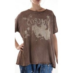T-shirt Cosmos in Umber