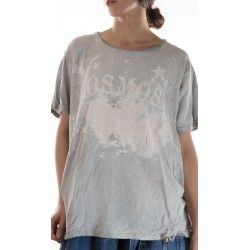 T-shirt Cosmos in Dove