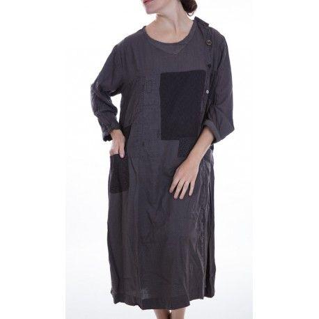 robe Burke noir