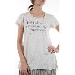 T-shirt J Kerouac in French Vanilla