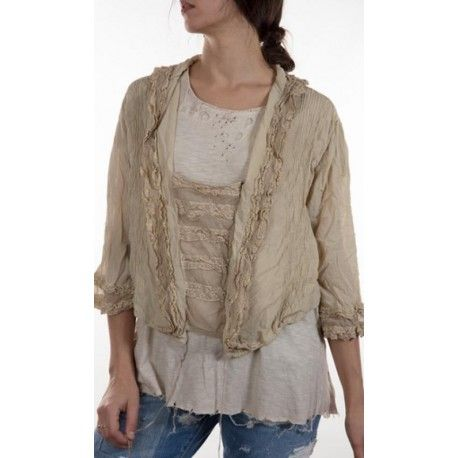 blouse Margaux in Papyrus