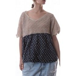 blouse Olivier in Nanette Dot