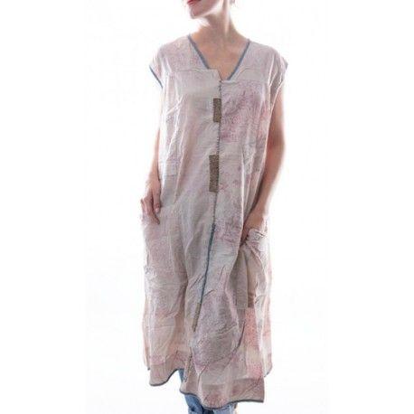 robe Delia imprimée rose
