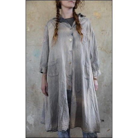 robe-veste Hudson Smock in Sun Dry