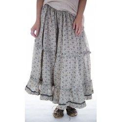 skirt Pissarro in Kiwi Fern