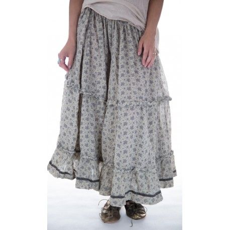 skirt Pissarro in Kiwi Fern
