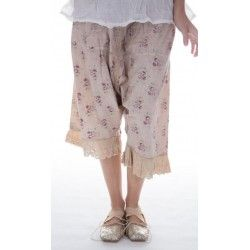 pantalon Routhie in Wine rose