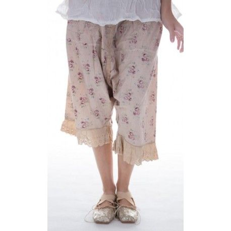 pants Routhie in Wine rose