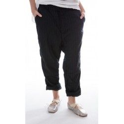 pants Violet in Pinstripe