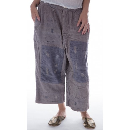 pantalon French Work in African Violet