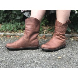 bottines EXIT cognac