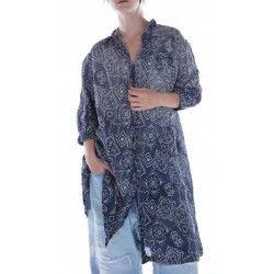 robe-veste Hudson Smock in Bandeezey