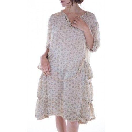 dress Katina in Brushwood Magnolia Pearl - 1