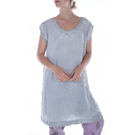 dress Orlena in Dove Ash
