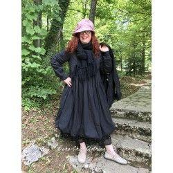 robe LYLY popeline de coton noir
