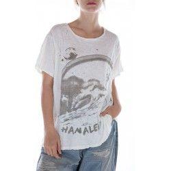 T-shirt Hanalei in True