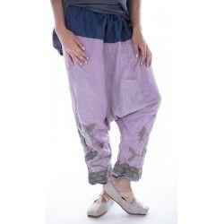 pantalon Joon Pongee in Lychee Blossom