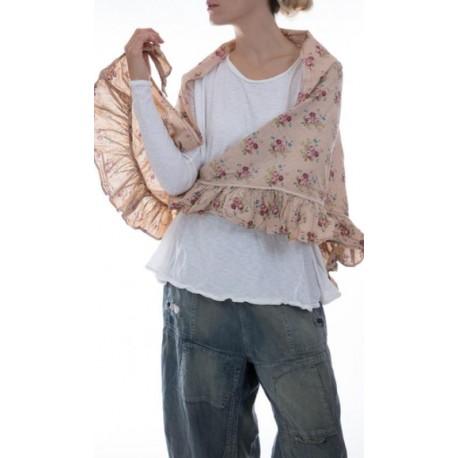 foulard Poplin Elka in Clay