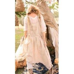 dress Etta in Buckwheat Cream