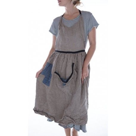 tablier Femke in Flax