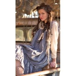 dress Hidi in Indigo