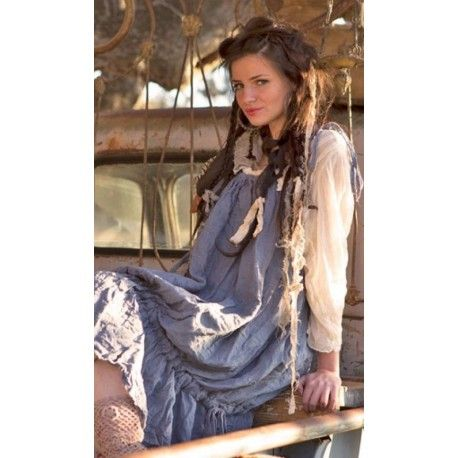 robe Hidi in Indigo