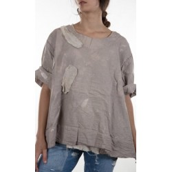 top Salvador Painter's Smock in Drop Cloth