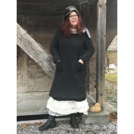 robe / pull MARYLENE doudou gris anthracite