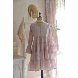 dress Flower small in Tea rose
