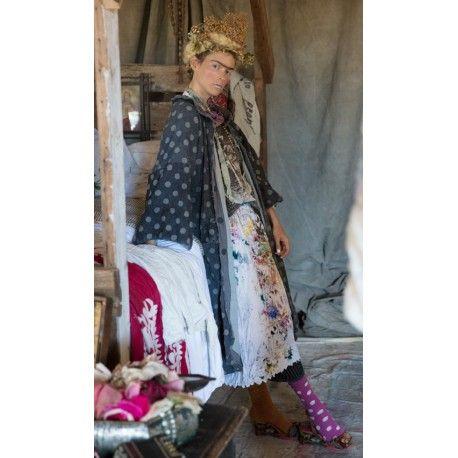 coat Ailsa in Kusama Dot