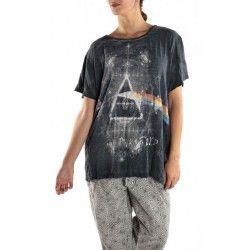 "T-shirt Rosa Luna ""Pink Floyd"" in Ozzy"