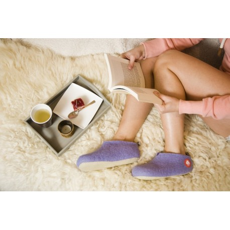 slippers GUS light violet