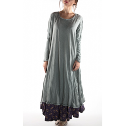 robe Babydoll with Long Sleeves in River